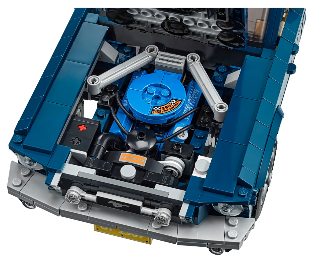 LEGO Ford Mustang engine