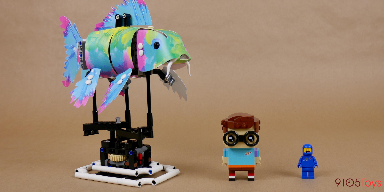 LEGO Forma Koi Fish size comparison