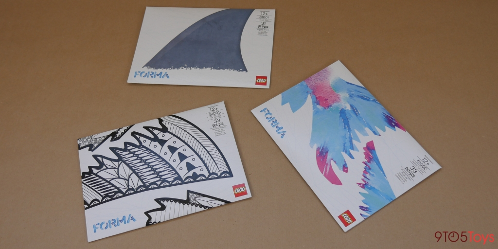 LEGO Forma Koi Fish packaging