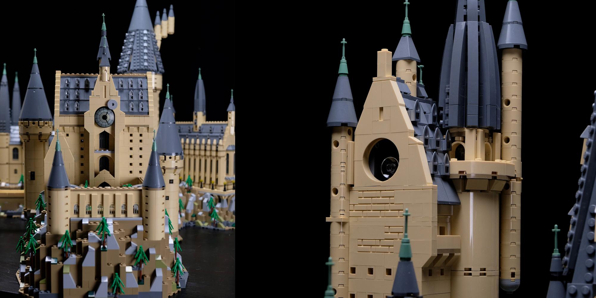 LEGO Hogwarts Castle expansion details