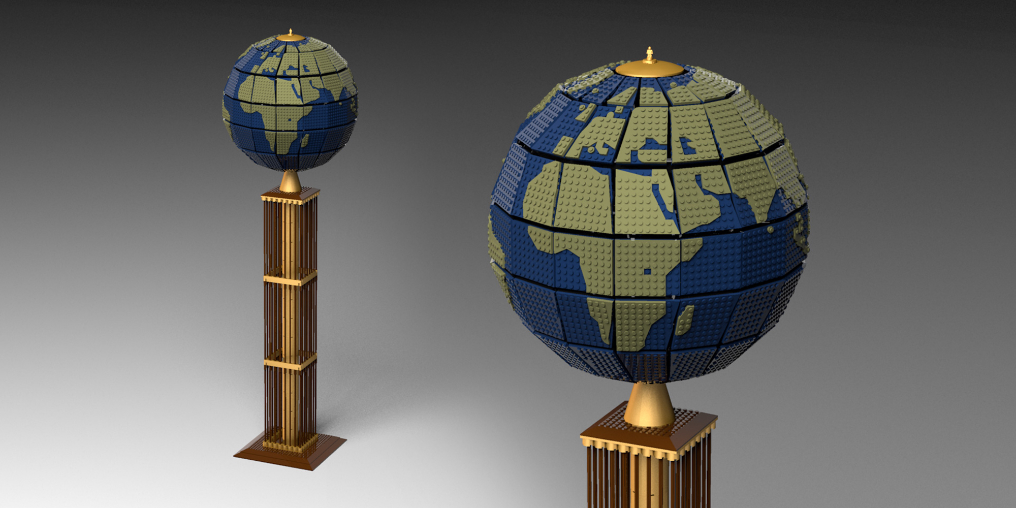 February's best LEGO Ideas creations include a brick-built globe, other found objects and more