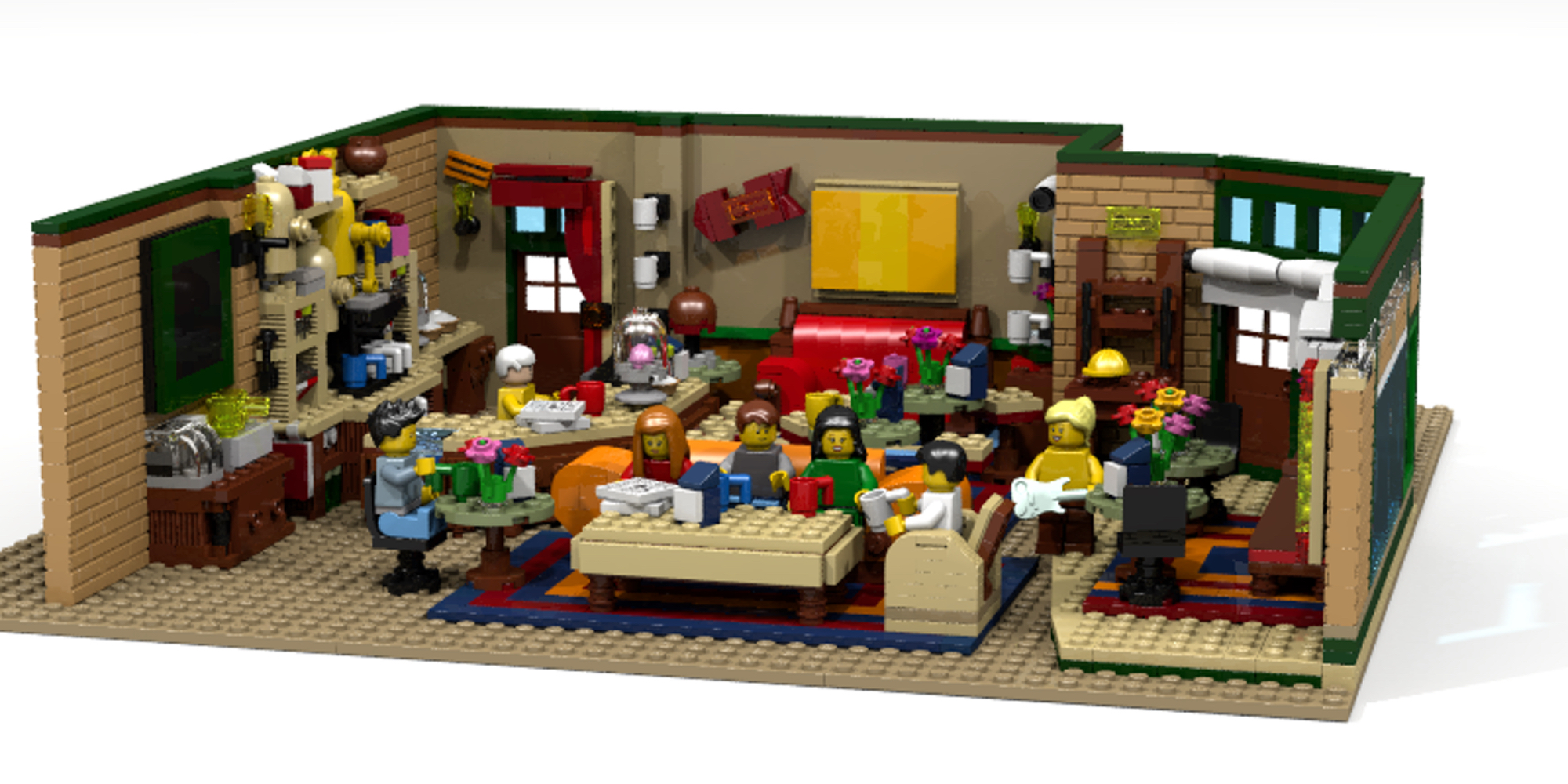 LEGO Ideas Friends Coffee Shop