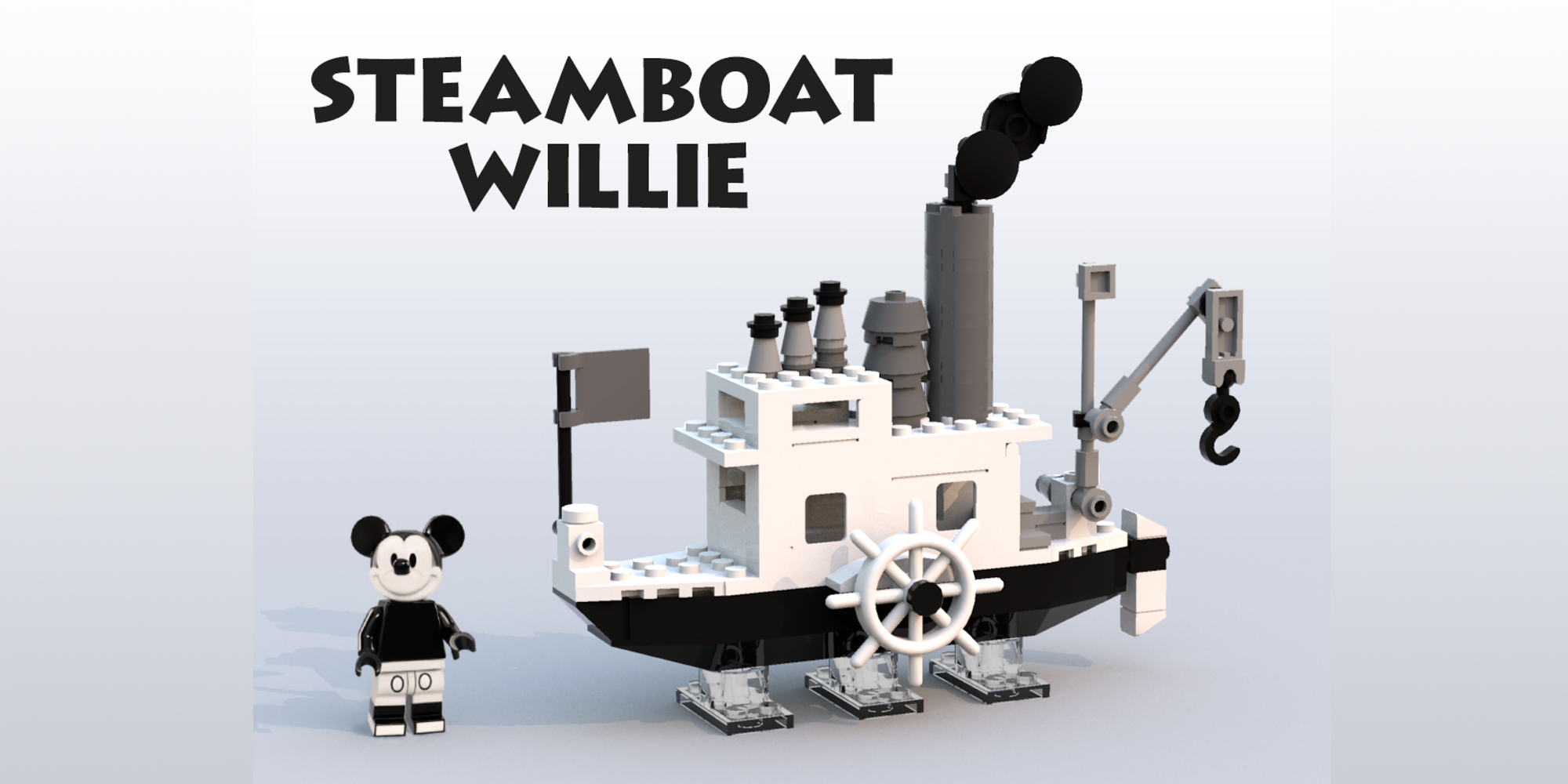 LEGO Ideas announces Steamboat Willie and Friends sets, the two latest fan-made creations