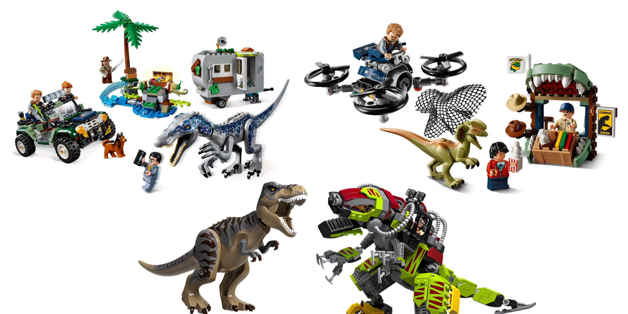 LEGO debuts four new dinosaur-packed Jurassic World kits ahead of New York Toy Fair