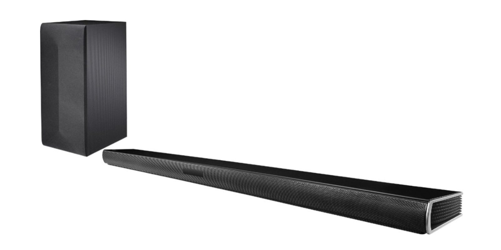 Replace your TV's built-in speakers w/ the LG 2 1-Ch