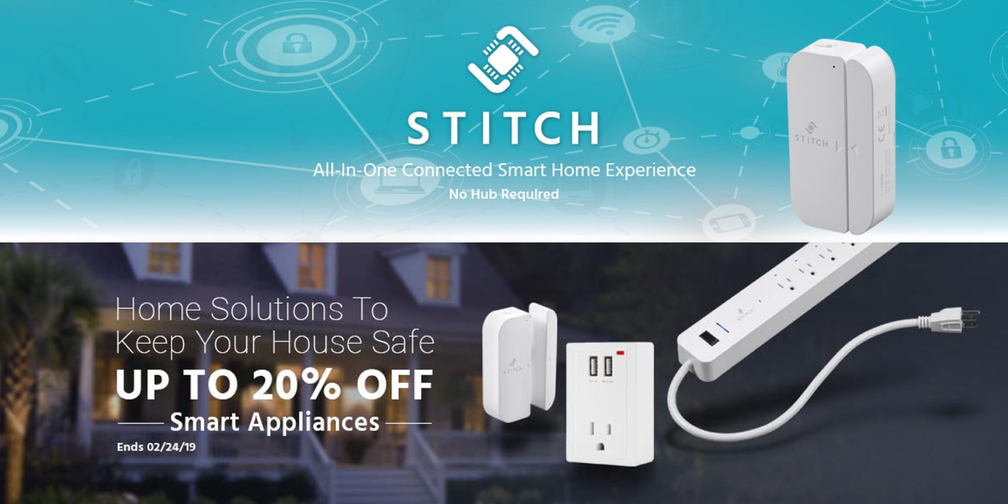 Save up to 20% on Z-Wave, STITCH and other Monoprice smart home accessories from $17