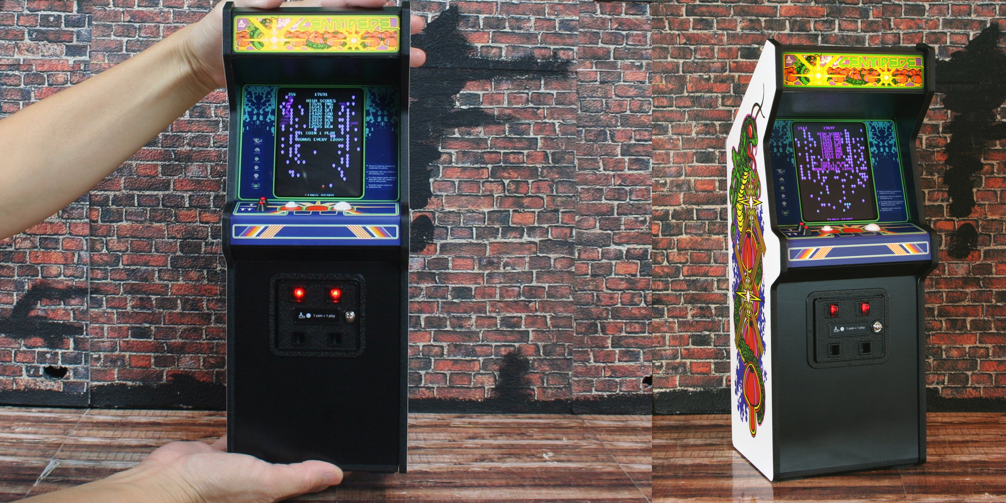 Adorn Your Desk W The Replicade X Centipede Arcade Cabinet At 109 50 Reg 160 All Time Low 9to5toys