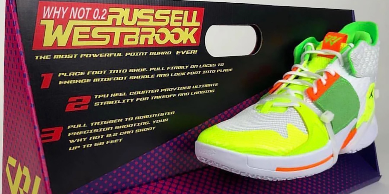 Russell Westbrook's Super Soaker Nikes are a must-see ...