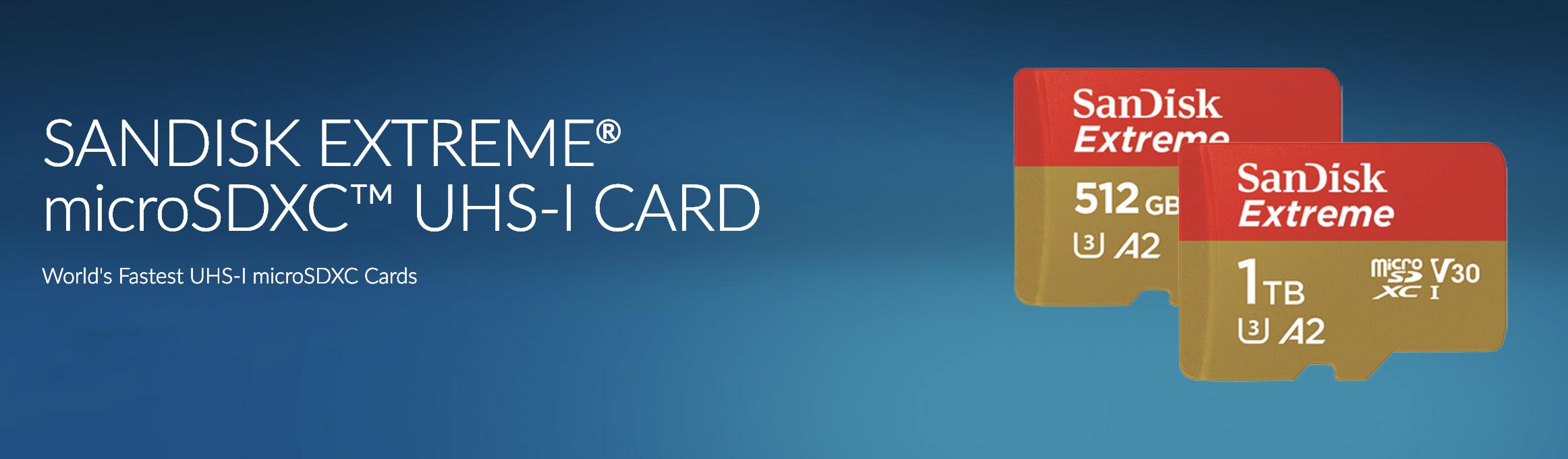 sandisk microsd 1tb cards