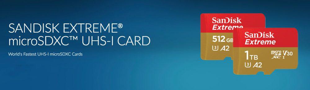 sandic microsd 1tb card