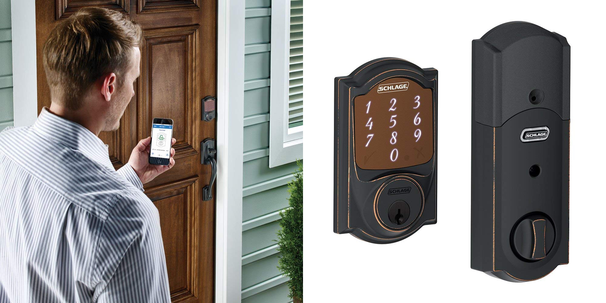 Command Schlage's Sense HomeKit Smart Deadbolt with Siri at $155 shipped (Reg. $229)