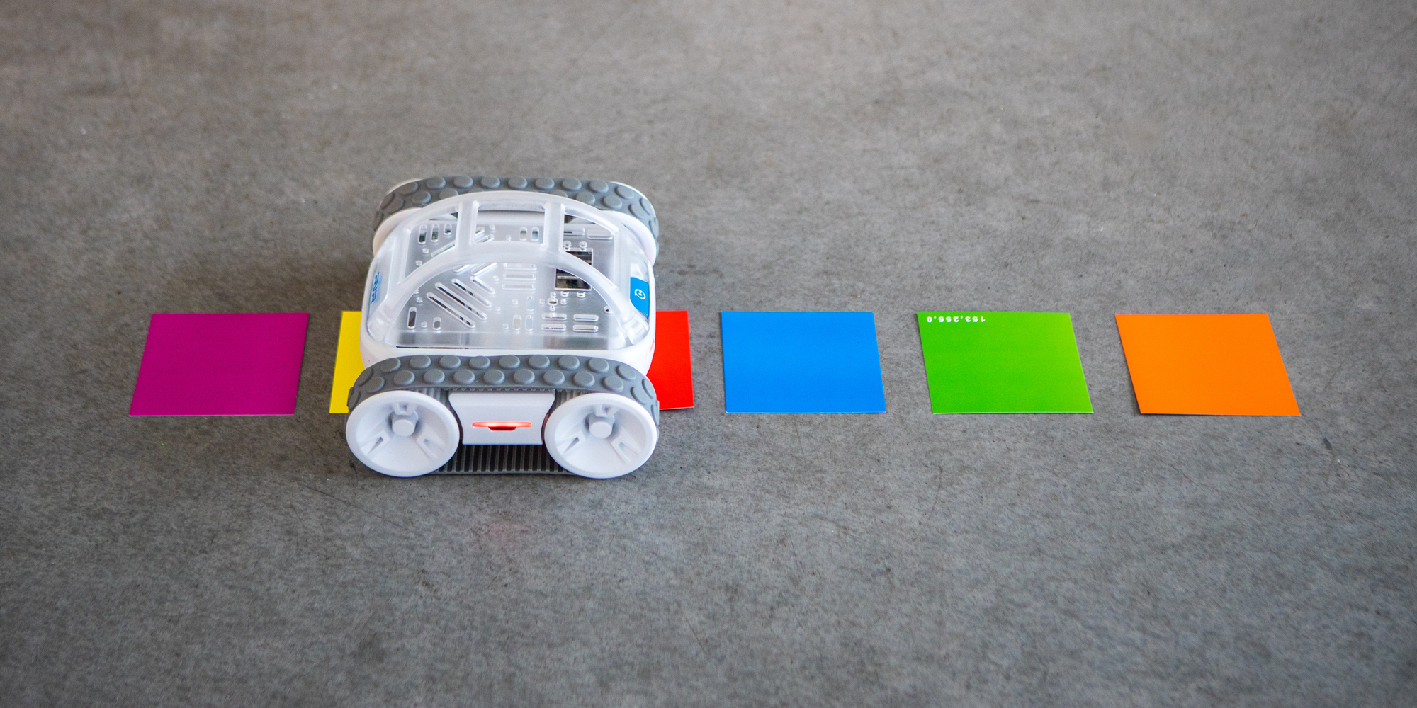 Sphero RVR color sensing