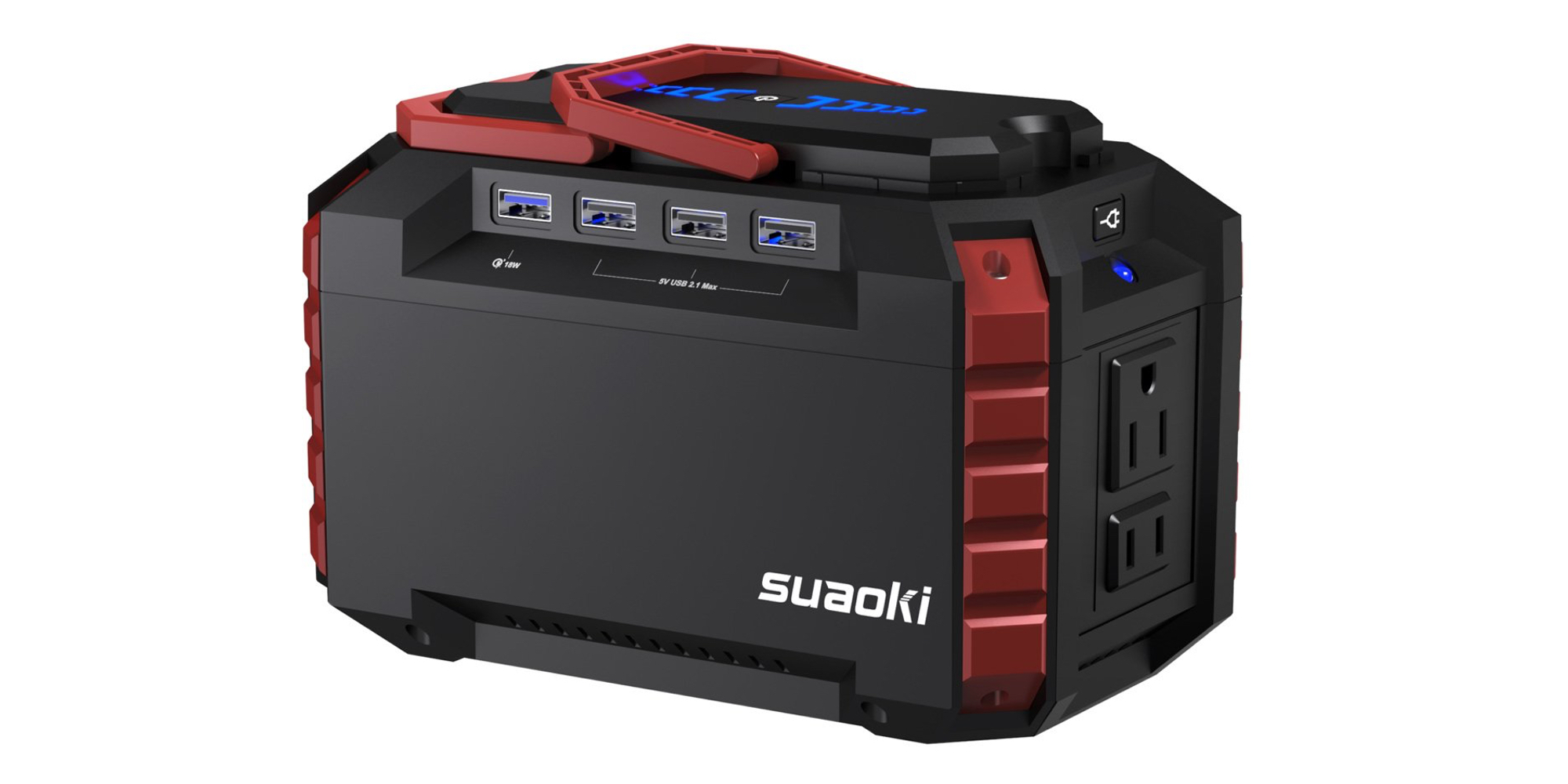 Suaoki's 150Wh Power Station covers all of your portable energy needs at $94.50 shipped (25% off)