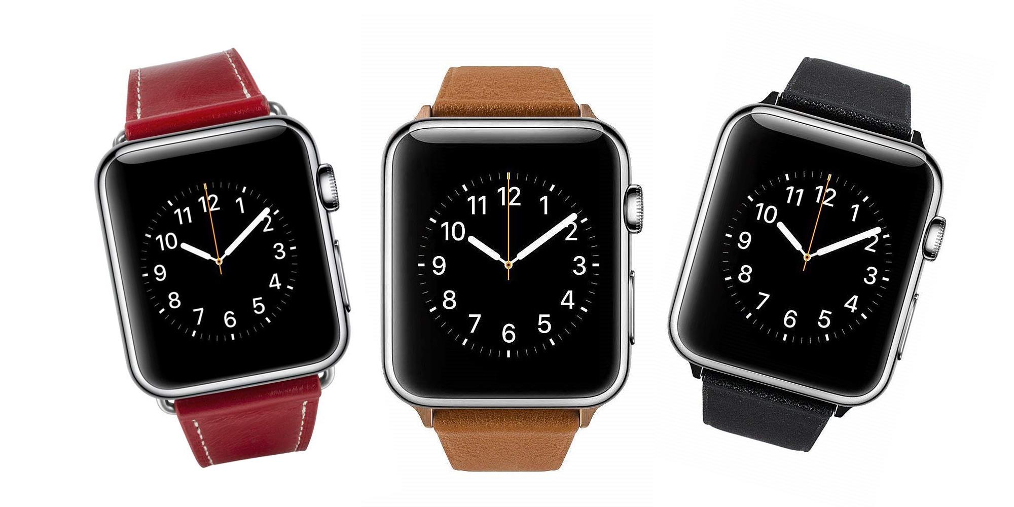 Add a leather Apple Watch band to your arsenal in various colors for $5.50 (Reg. $12+)