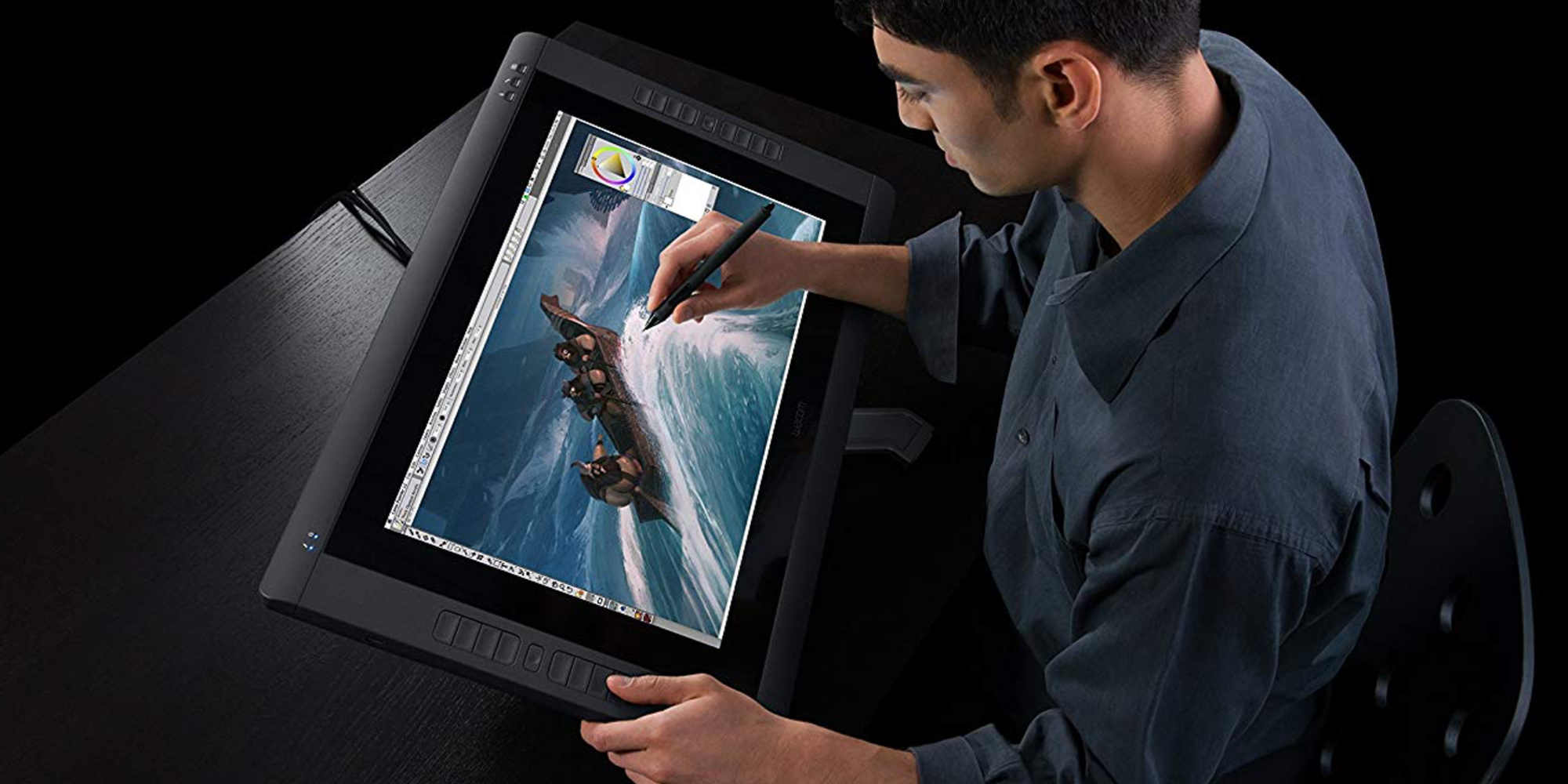 Professional artists and designers can save $200 on Wacon's Cintiq 21-inch Drawing Tablet