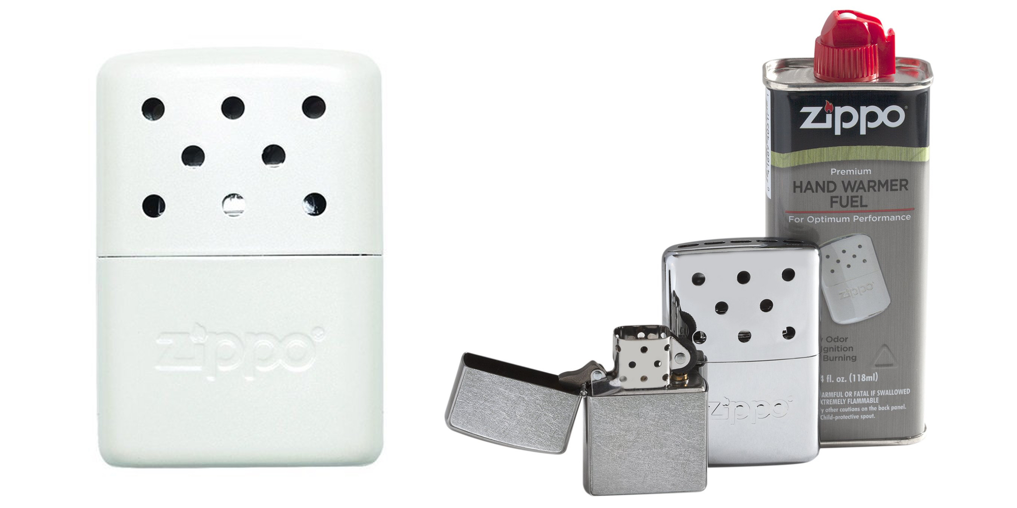 Keep your mitts nice and toasty with Zippo's refillable hand warmers from $8.50 (up to 23% off)