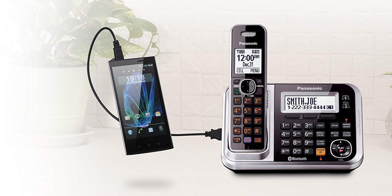 sports shoes 40443 e61d7 Panasonic Bluetooth Cordless Phones work w/ your smartphone, no ...