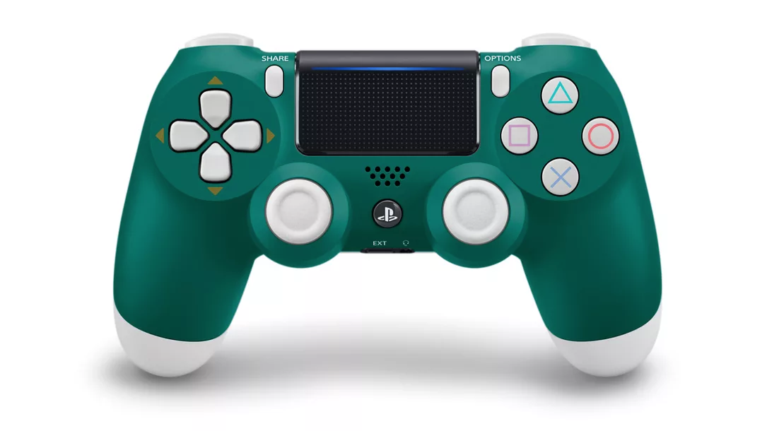 Alpine Green PS4 controller hits next month