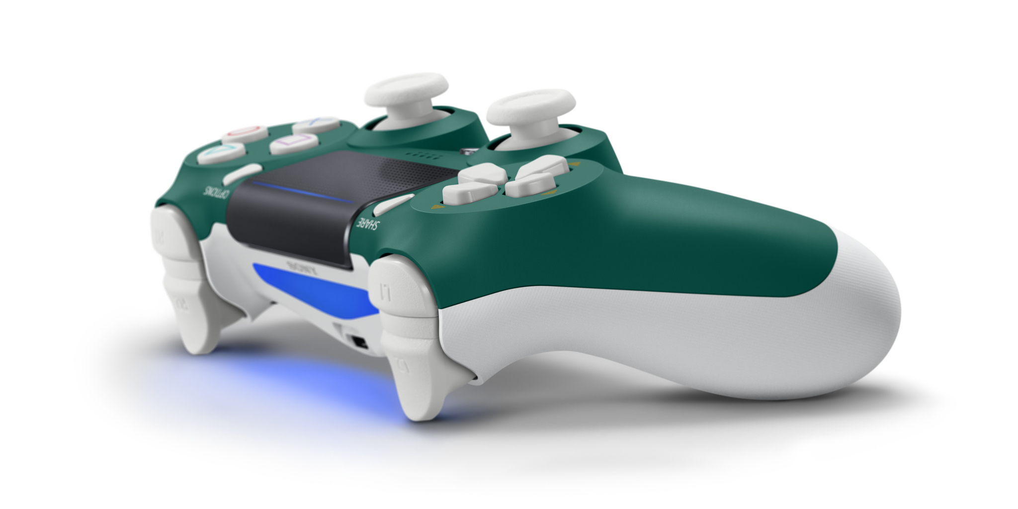 The new Alpine Green PS4 controller is the latest addition to Sony's DualShock 4 lineup