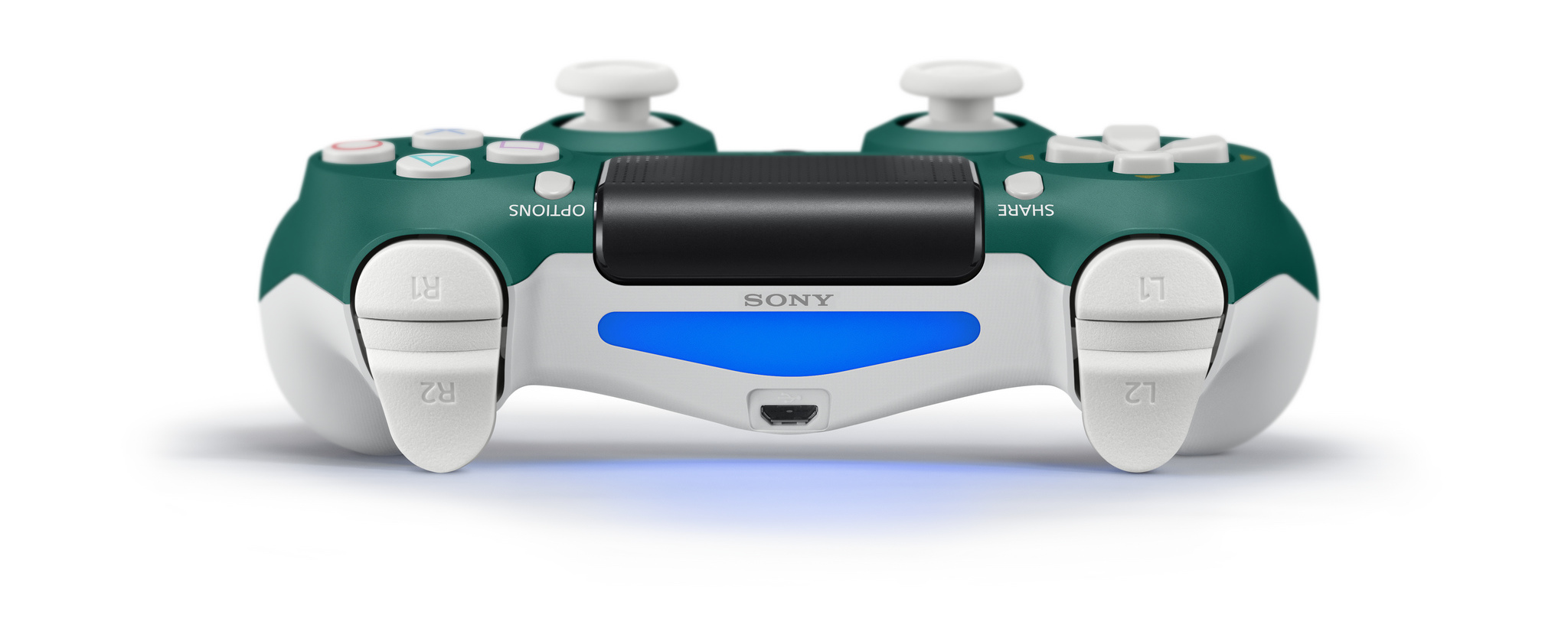 Alpine Green PS4 controller coming soon