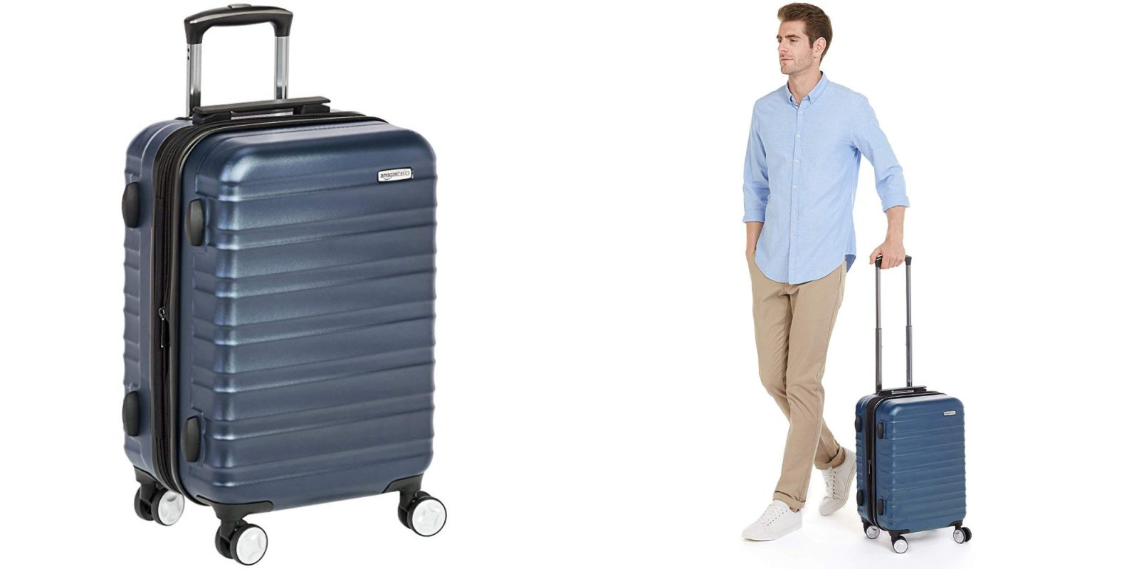 e74fac36c94b Amazon's 20-inch Premium Hardside Spinner Luggage drops to low of ...
