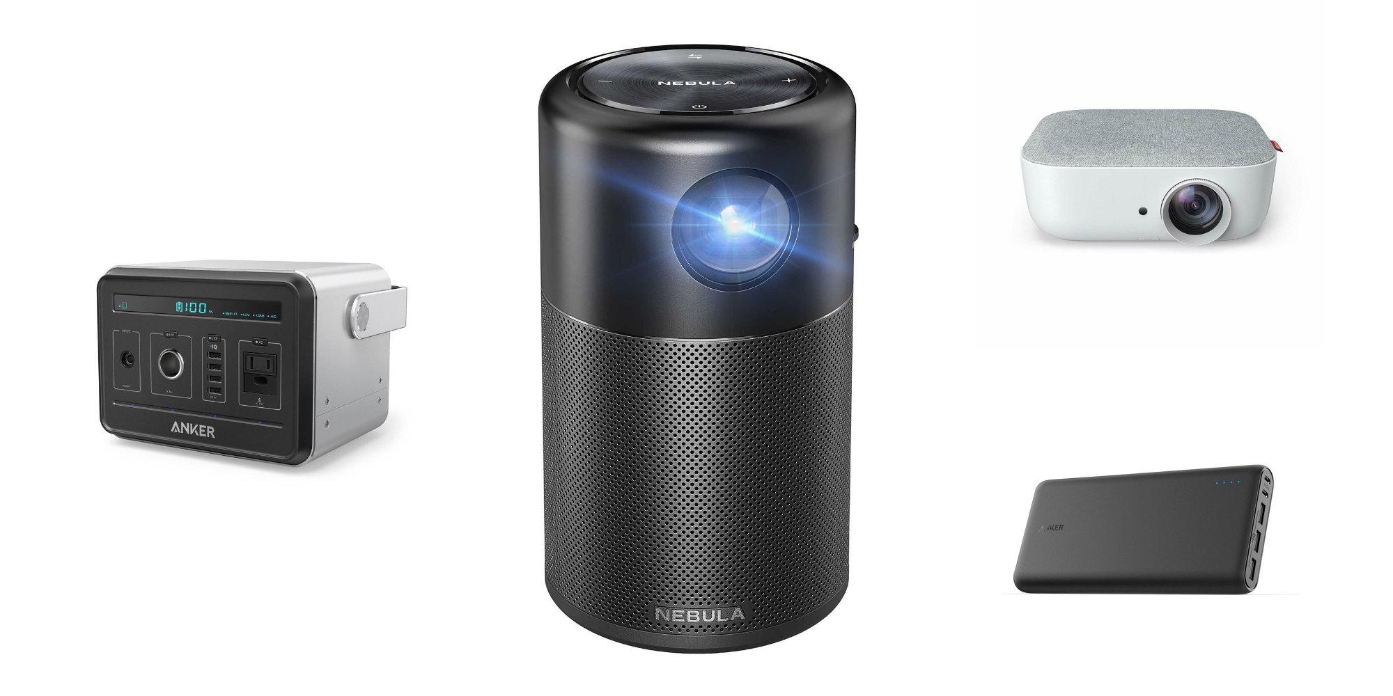 Anker slashes up to 40% off in eBay sale: Nebula Capsule Projector $189 (Refurb, Orig. $350), more