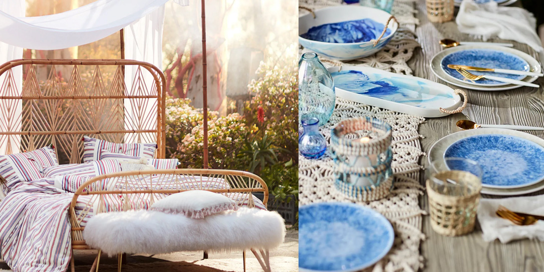The new Anthropologie summer collection helps you create a patio oasis with prices from $4