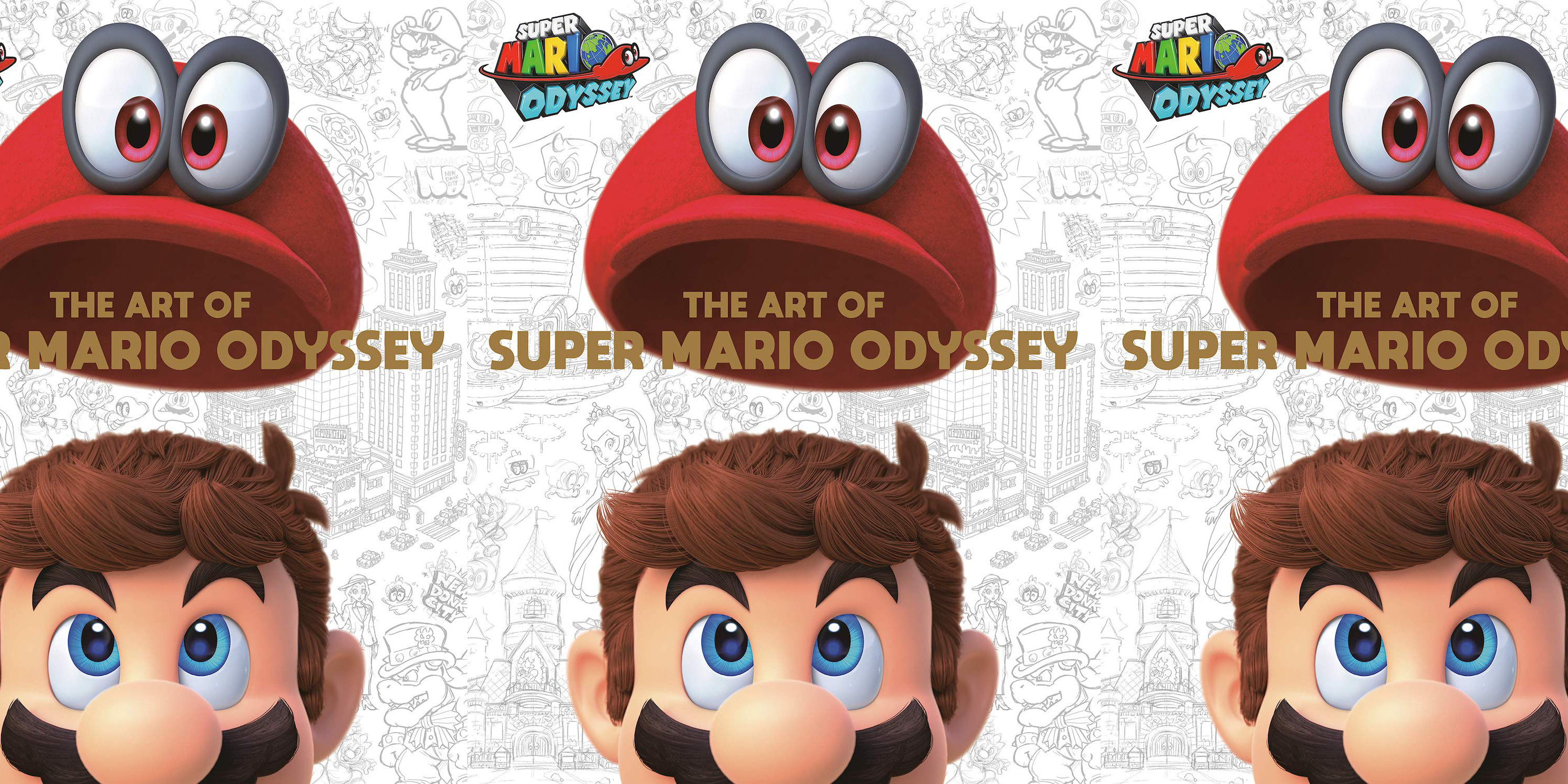 The Art of Super Mario Odyssey hardcover book is now down to $38 shipped (Pre-order, Reg. $50)