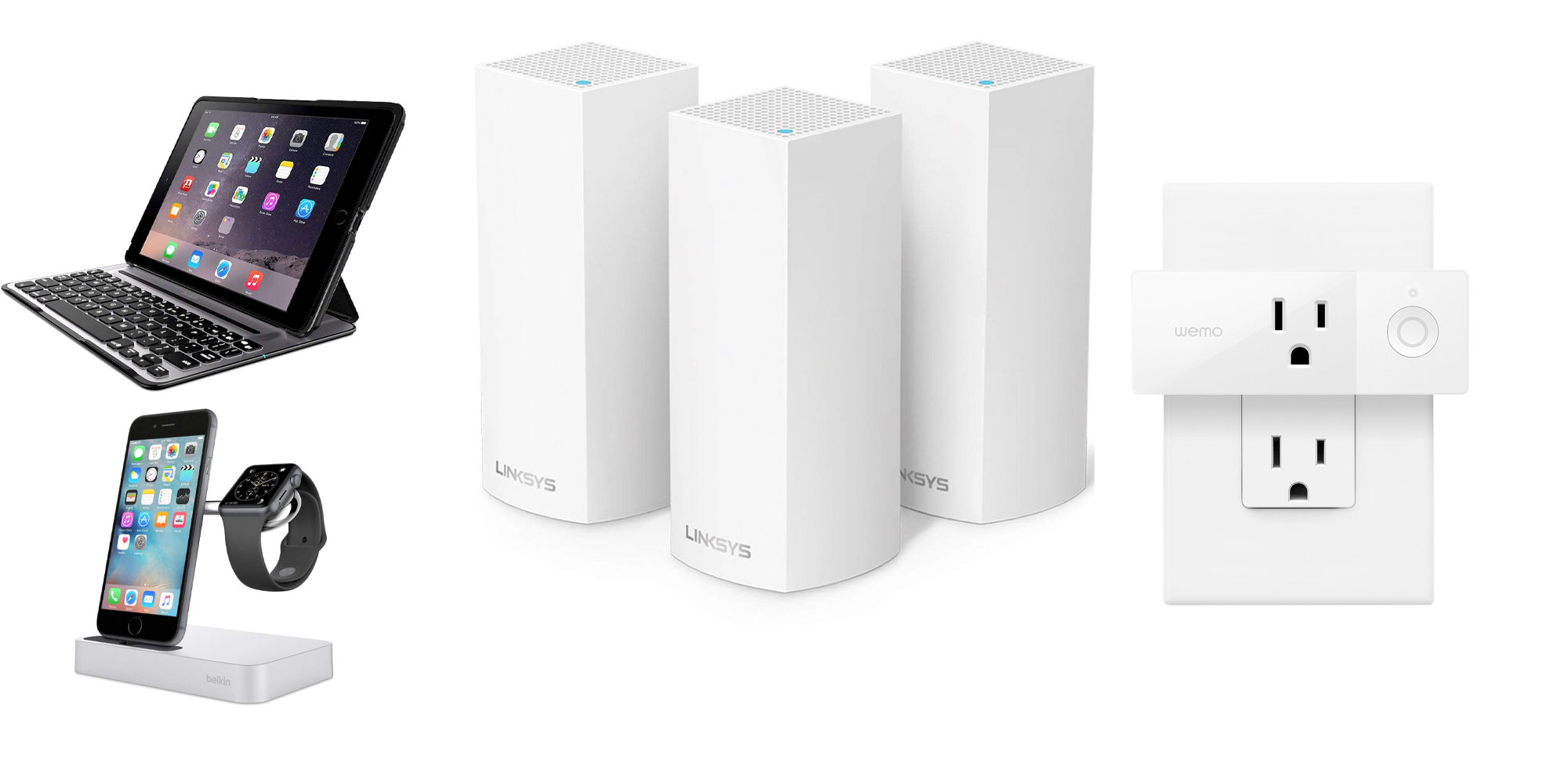 Belkin's one-day-only Amazon Gold Box offers smart plugs, mesh Wi-Fi systems, more from $15