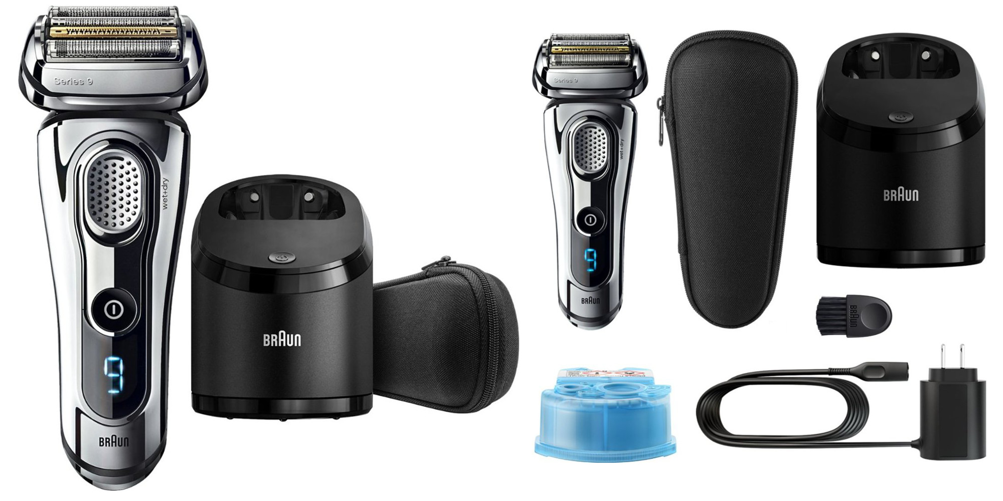 Braun's Series 9 Wet/Dry Shaver w/ stand & SmartPlug charging is now $100 off for today only