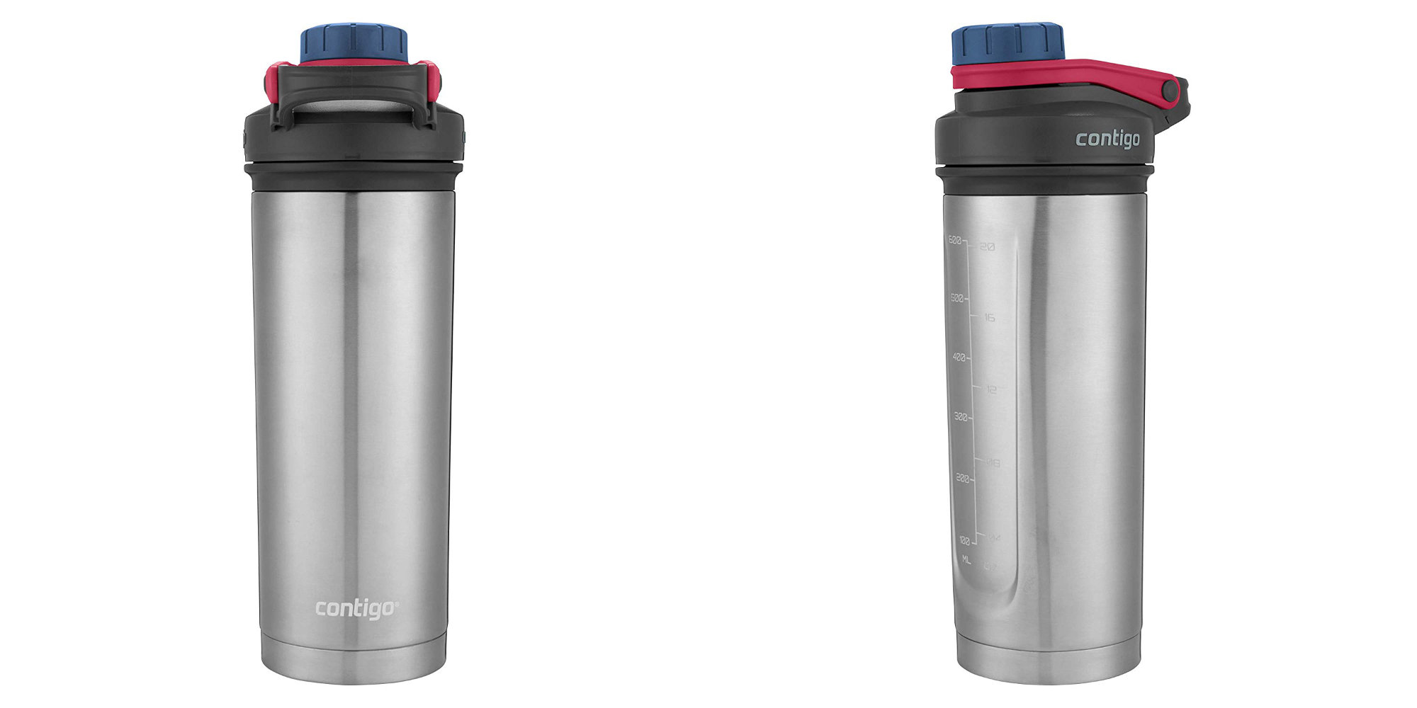 Contigo's Vacuum-Insulated Shaker Bottle just hit an incredible low of $6 Prime shipped (Reg. $20)