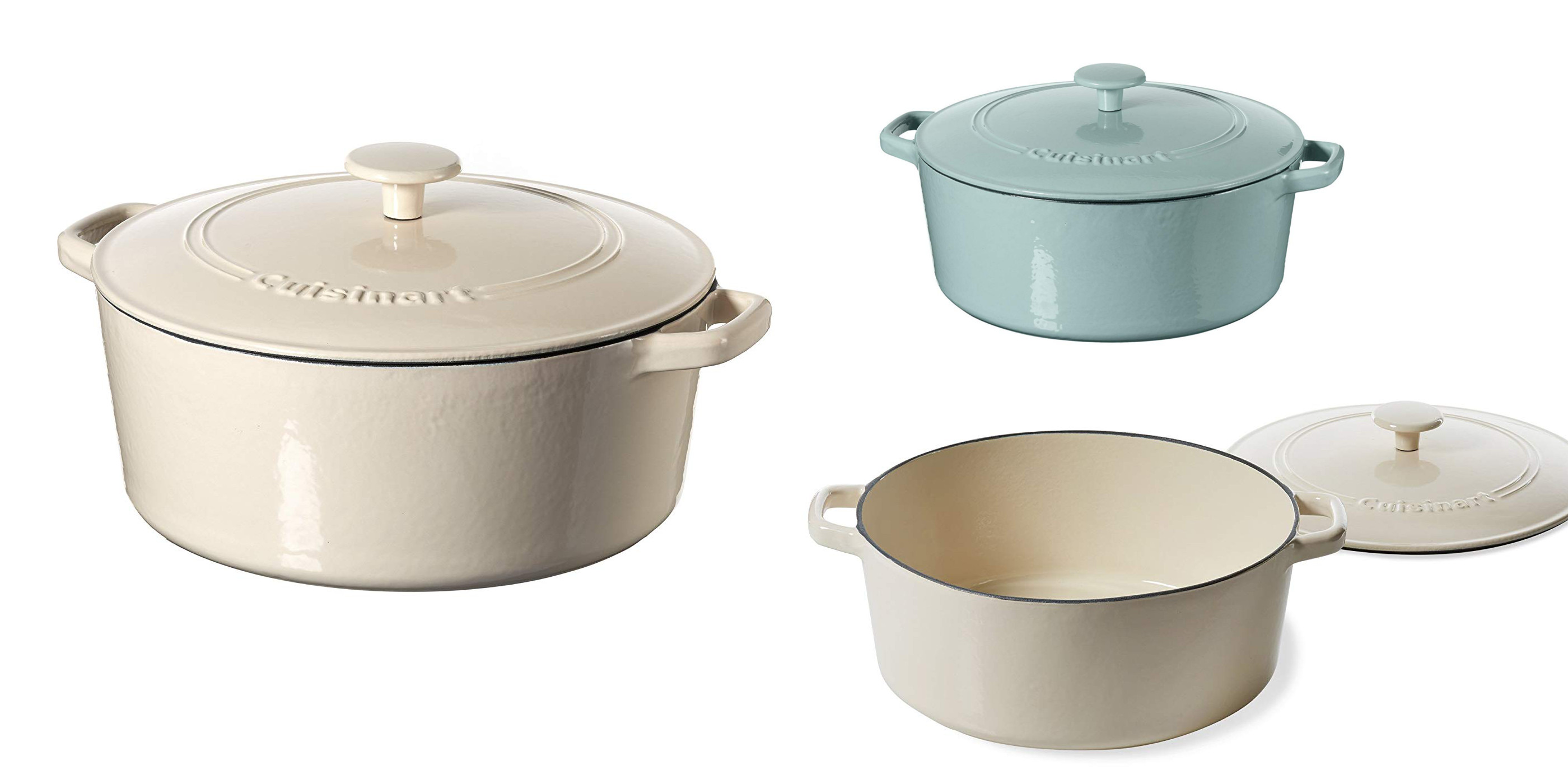 Don't miss today's Cuisinart Cast Iron Casserole Gold Box sale from $55 (Up to $60 off)