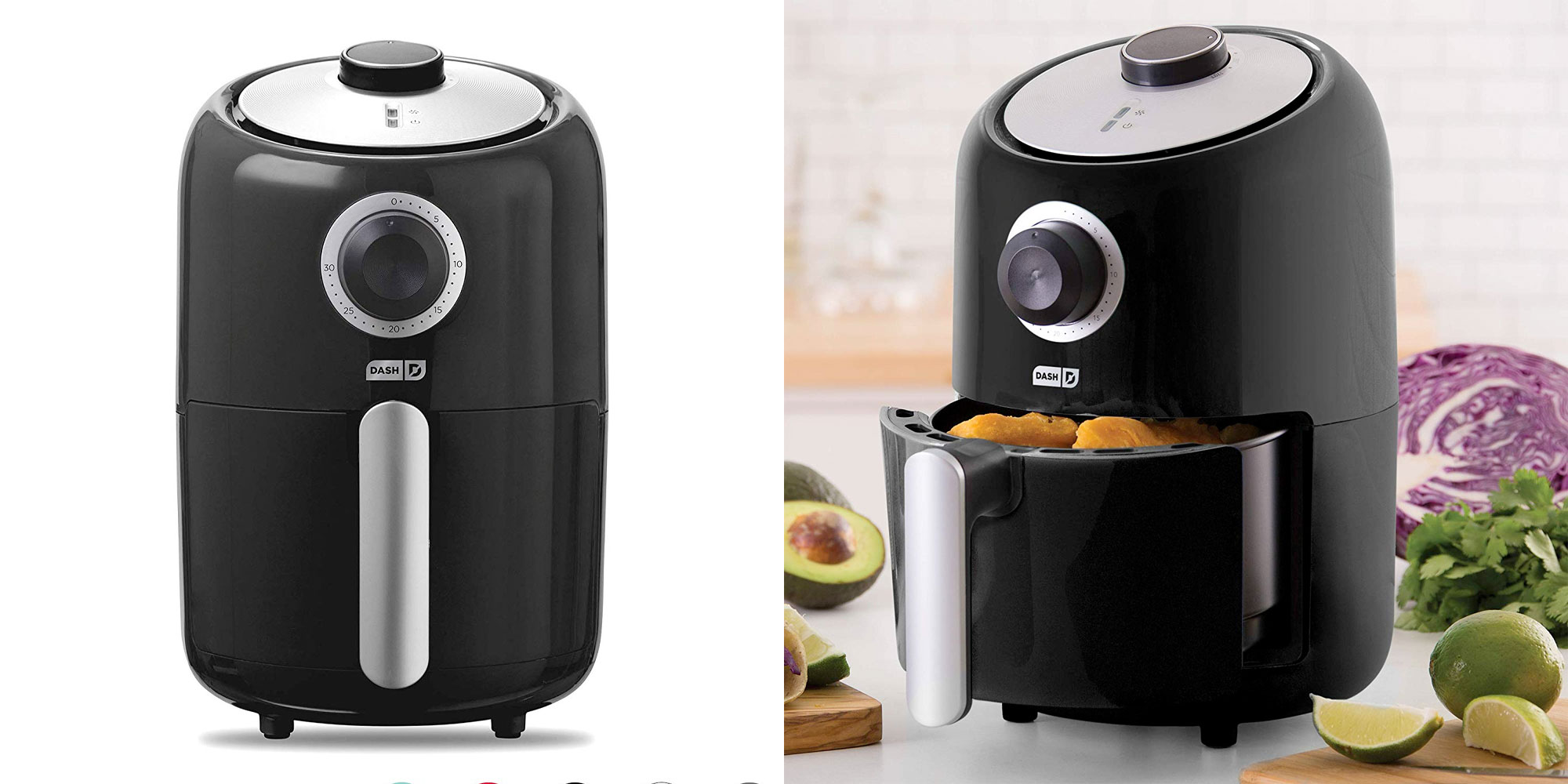Enjoy healthier fried foods w/ this 1.2L compact air fryer for $40 shipped (Reg. $50)
