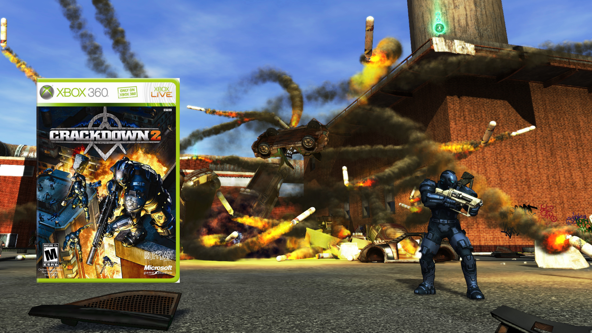 You can now download Crackdown 2 for free on Xbox One - 9to5Toys