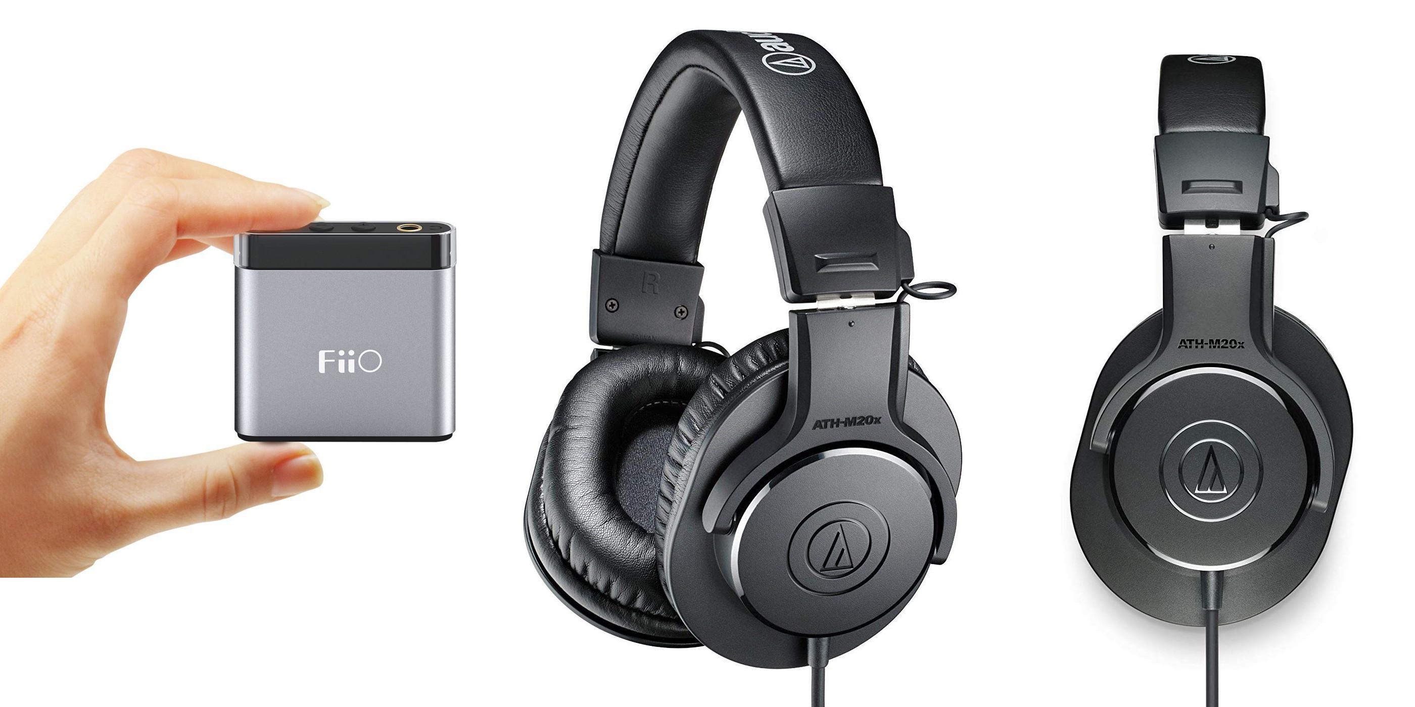 24de2a26f0b Audio-Technica's ATH-M20x Pro Headphones + a FiiO A1 Amp for $54 shipped  ($78+ value), more