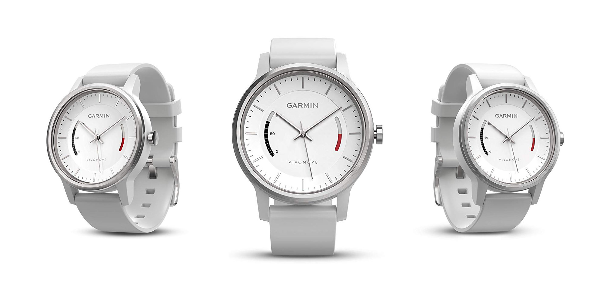 The Garmin vívomove Sport offers 1-year battery life, tracks activity, and more: $40 (20% off)