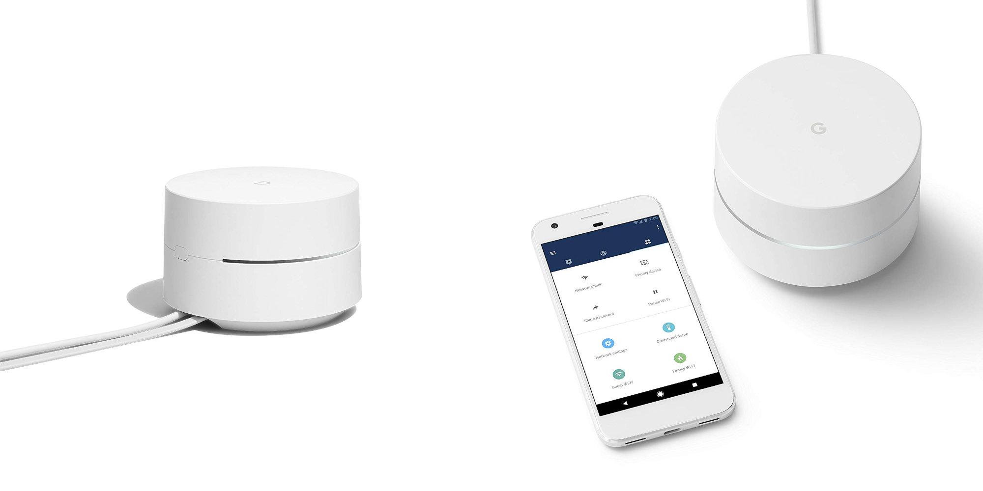 Google's 802.11ac Mesh Wi-Fi bids weak signals adieu: 3-pack for $219 (Reg. $259)