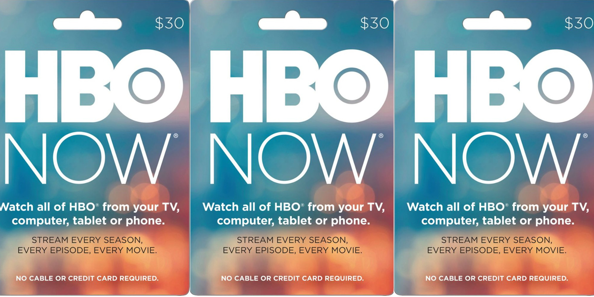 Gift cards at up to 20% off: HBO Now, Nintendo eShop, Barnes & Noble, Fanatics, more