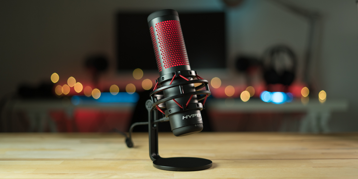 Up your streaming game with HyperX's QuadCast USB Microphone at $100 ($40 off) - 9to5Toys