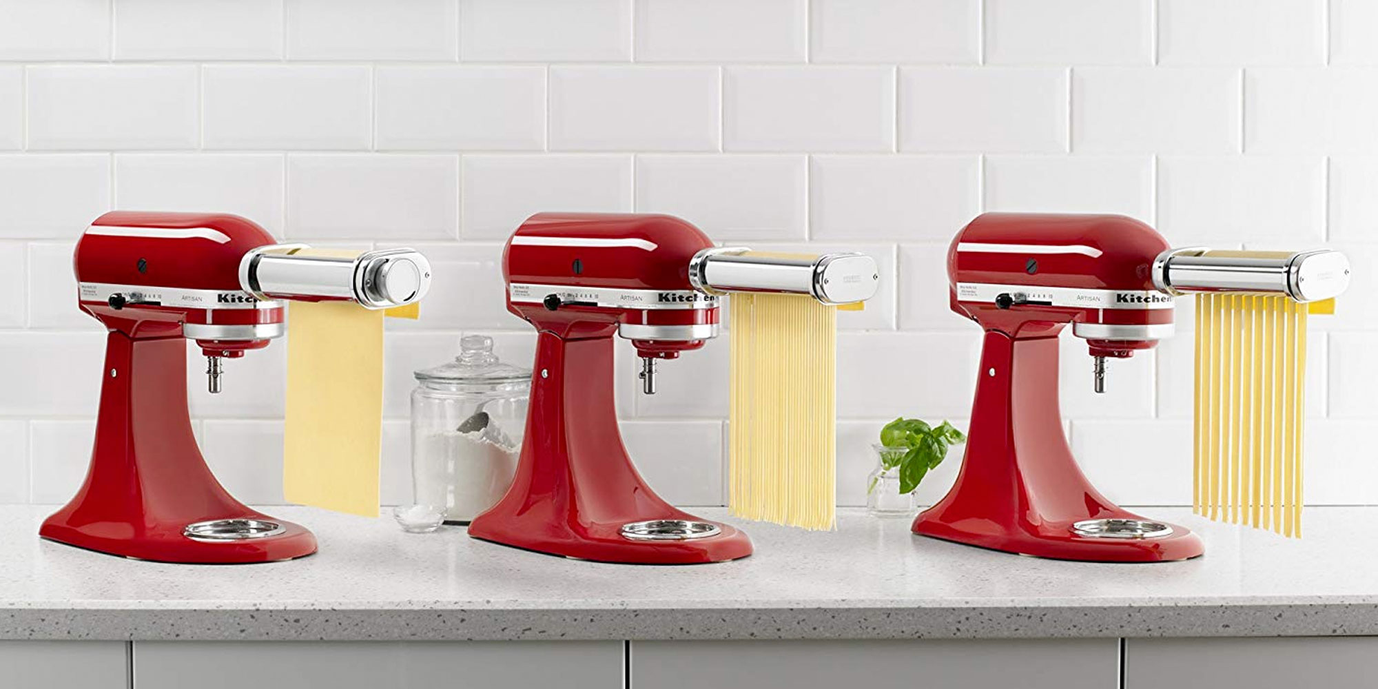 Make pasta at home w/ KitchenAid's roller & cutter attachment for $100 Prime shipped (Reg. $120+)