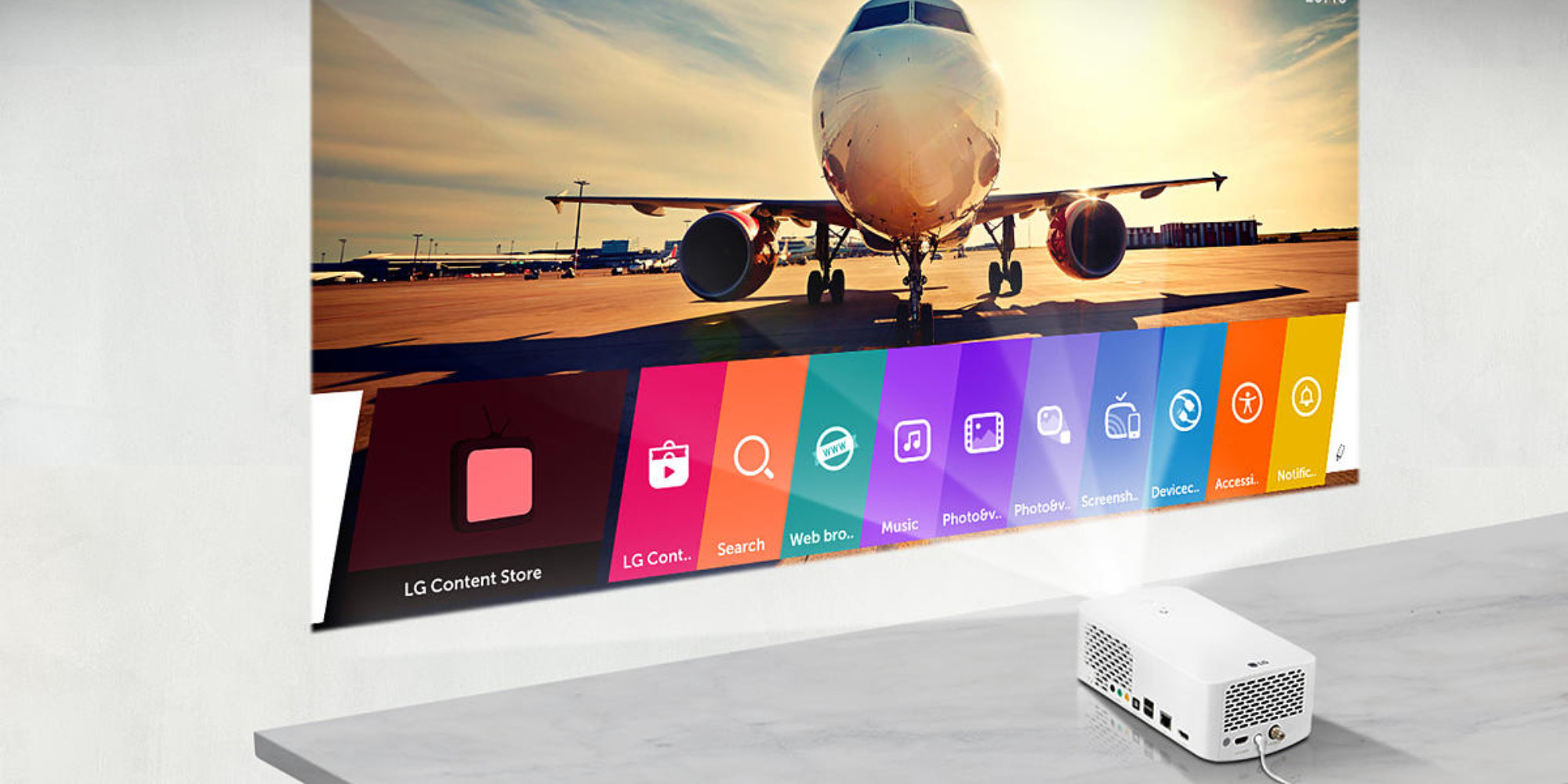 LG's 1080p Smart Projector runs webOS, has Bluetooth sound out, more: $697 (Amazon low)