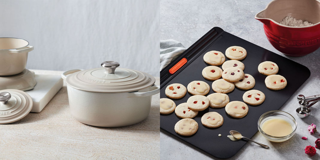 Le Creuset gets you cooking this spring with up to 50% off cookware sets & bakeware items from $40