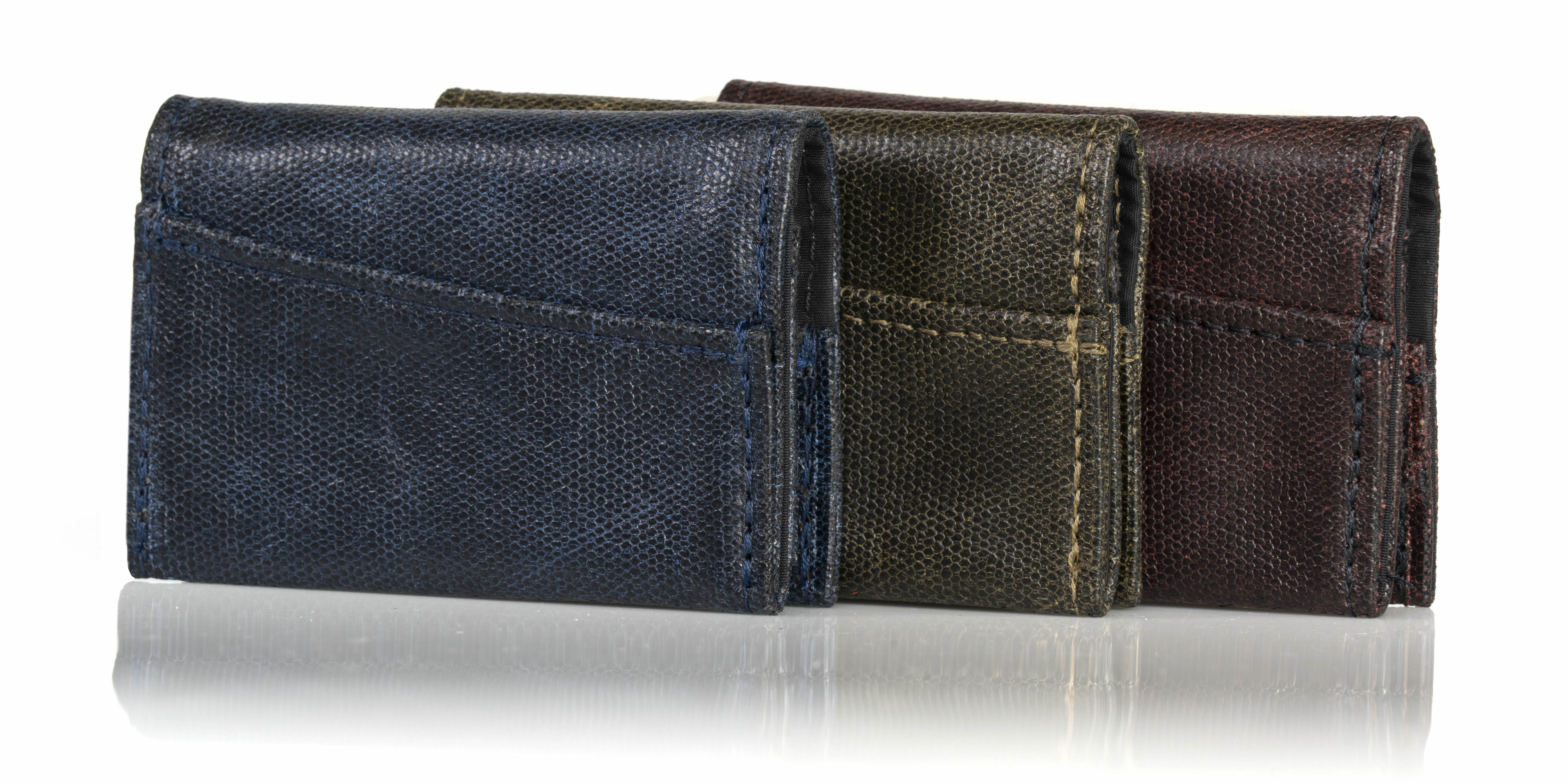 Minimo Leather Minimalist Wallets up for pre-order