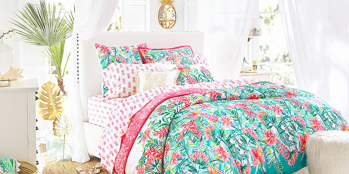 Lilly Pulitzer x Pottery Barn Spring Collection brightens up your home for spring