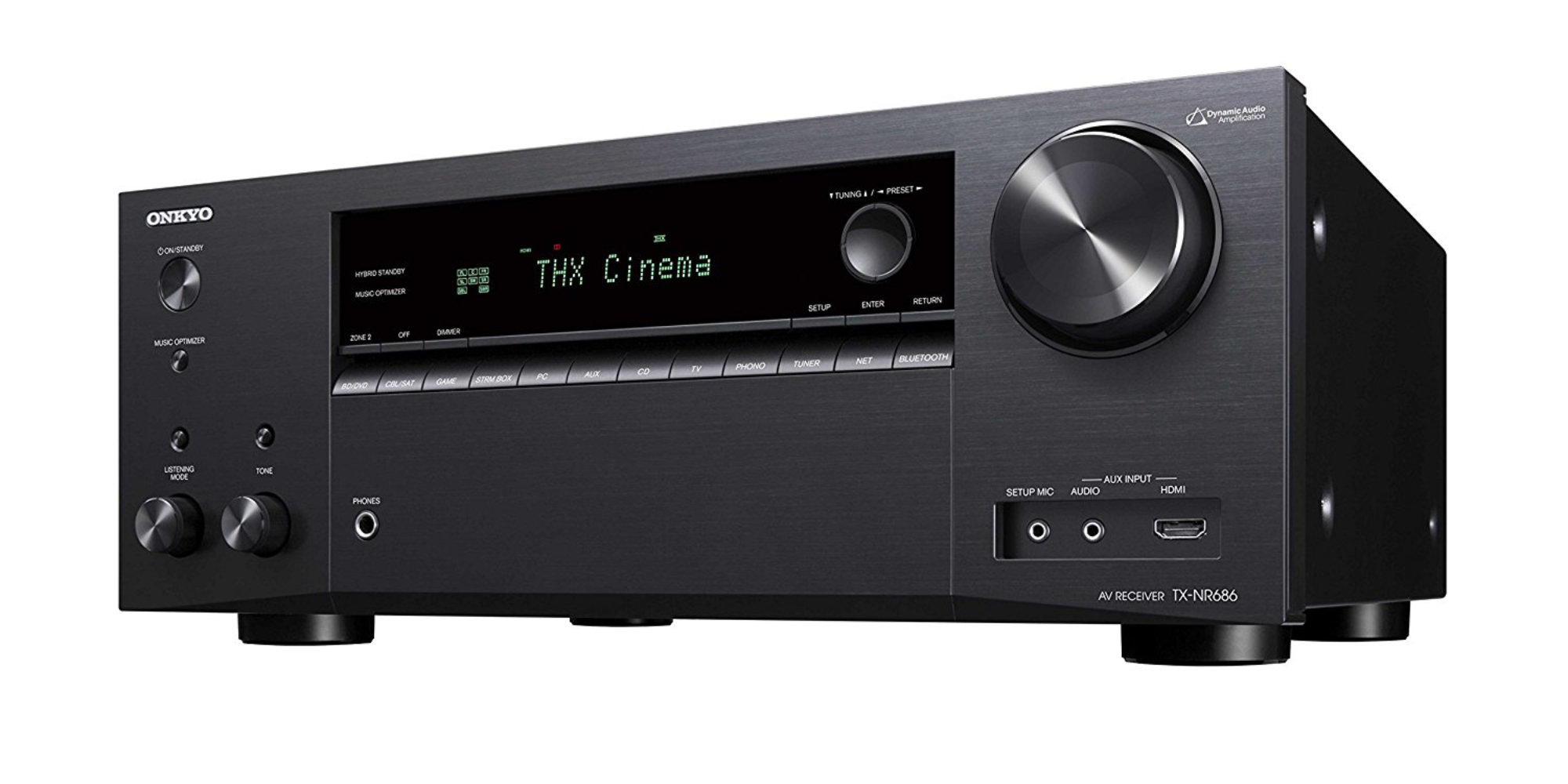 This Onkyo 7.2-Ch. AV Receiver has AirPlay & Dolby Atmos compatibility for a low of $280 (Reg. $330+)