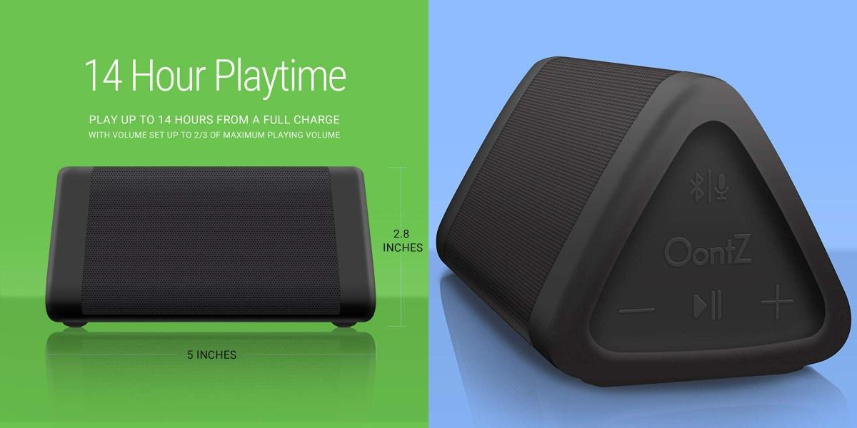 Best Bluetooth Speaker for Summer Oontz Angle 3