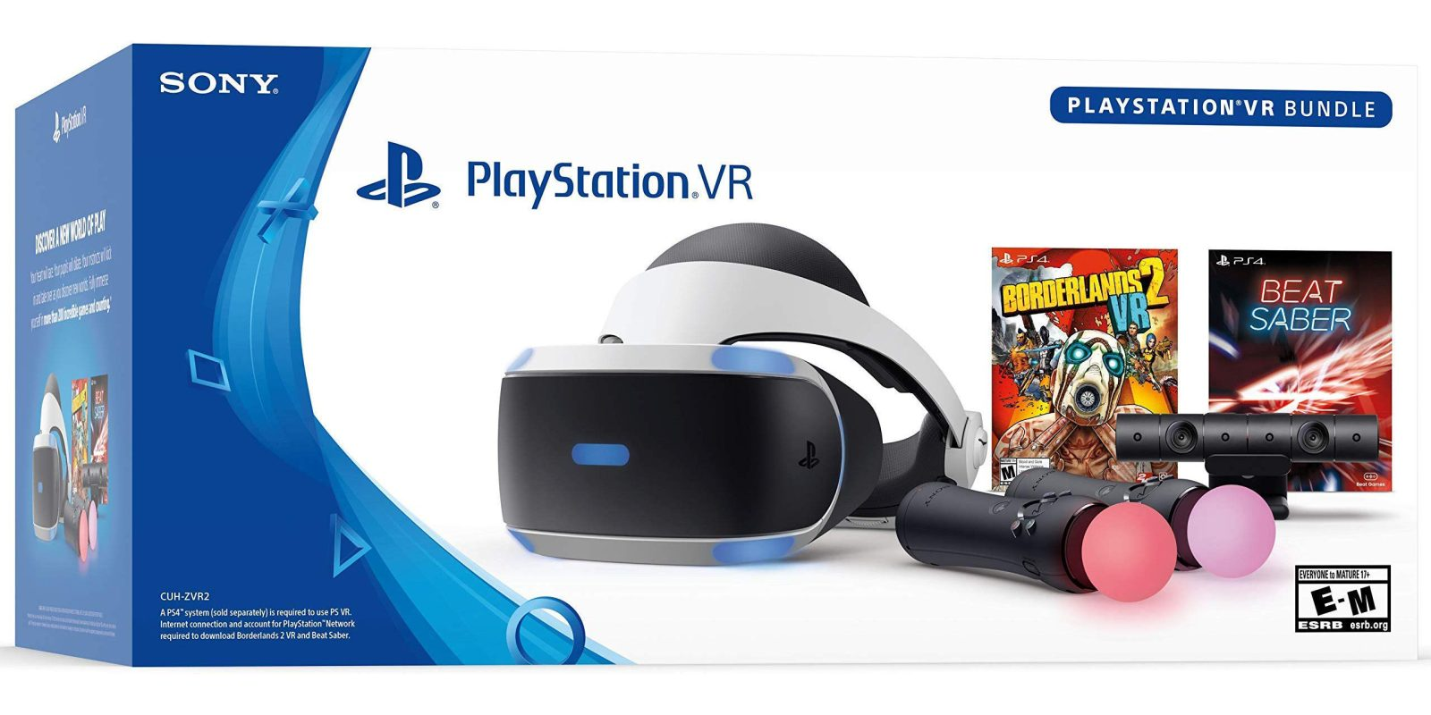 5481bf423779 Step into virtual reality w  the PSVR Borderlands 2   Beat Saber Bundle for   262.50 (Reg.  350)