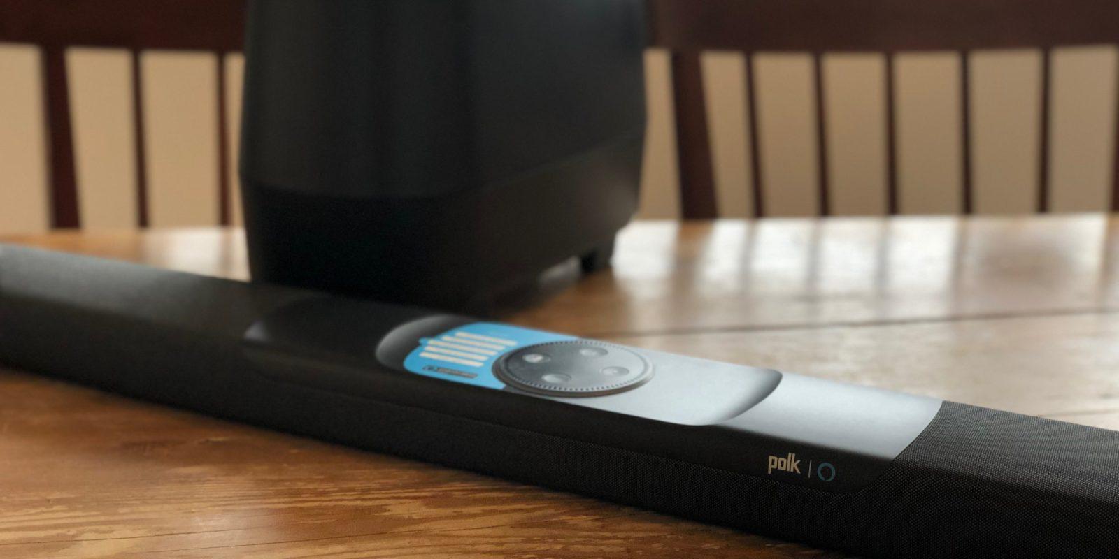 Polk Command Sound Bar has Alexa + multi-room music support: $239 (Save 20%)