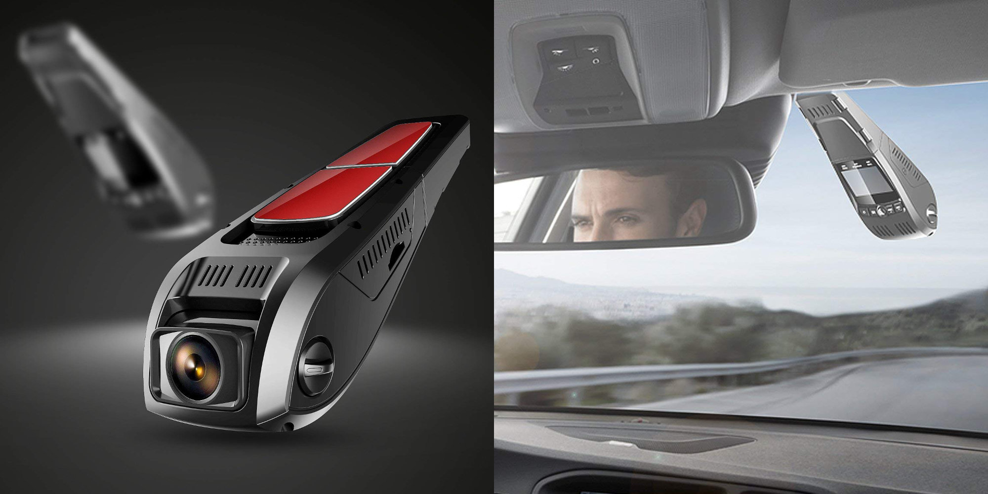 This Pruveeo 1080p Dash Cam unobtrusively mounts to your windshield: $27.50 (Over 30% off)
