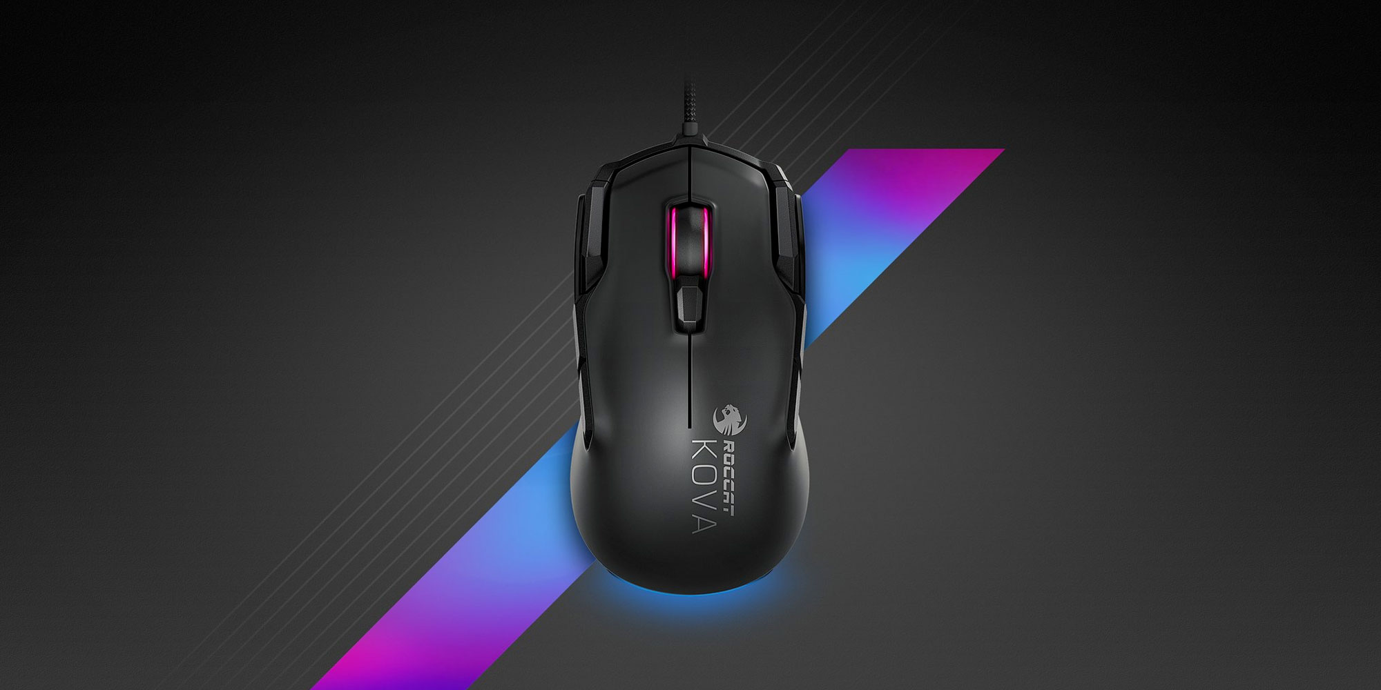 5d9aa210fbb The ROCCAT Kova AIMO mouse is built w/ gamers in mind - 9to5Toys